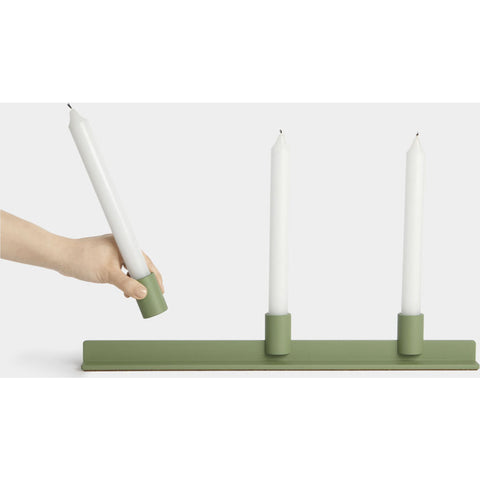 Umbra Rail Candelabra | Green 1008064-248