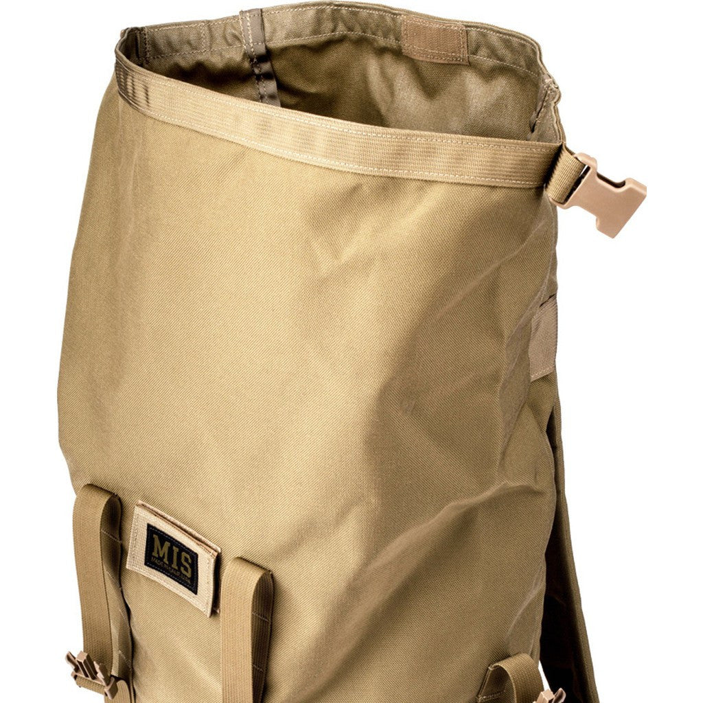 MIS Mil-Spec Rolltop Backpack | Coyote Tan MIS-1009
