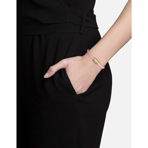 Miansai Mini Single Rope Casing Bracelet | Gold Plated/Canyon Rose S101-0166-005
