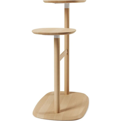 Umbra Swivo Side Table | Natural