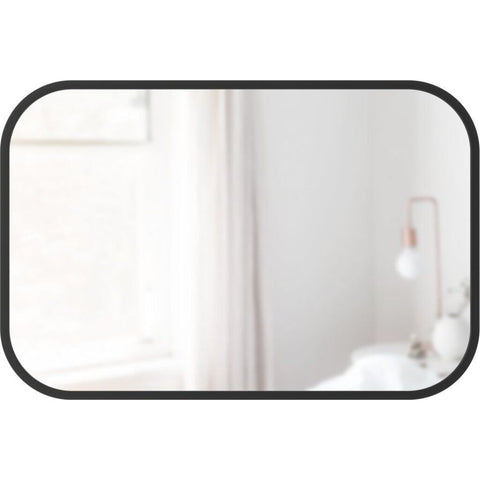 Umbra Hub Rectangle Mirror | Black