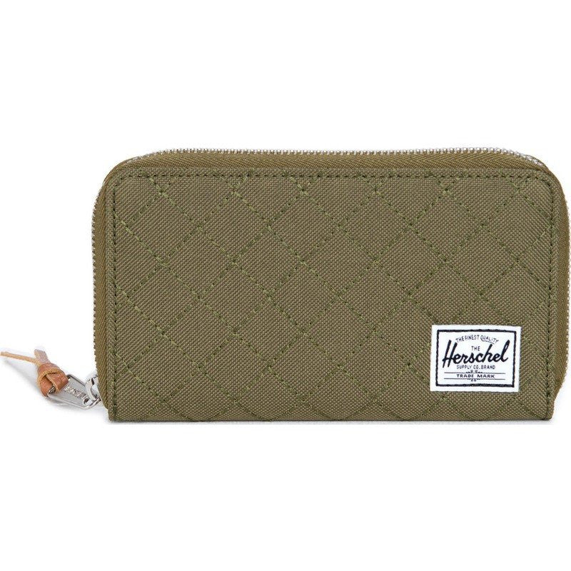 Herschel Thomas Quilted Wallet | Army 10154-00867-OS