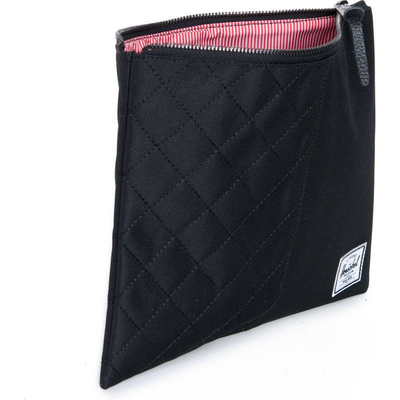 Herschel Network L Quilted Pouch | Black 10163-00866-OS