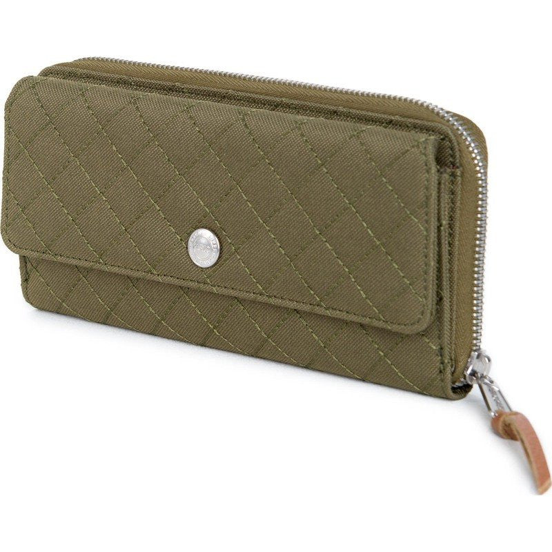 Herschel Avenue Quilt Poly Wallet | Army 10200-00867-OS