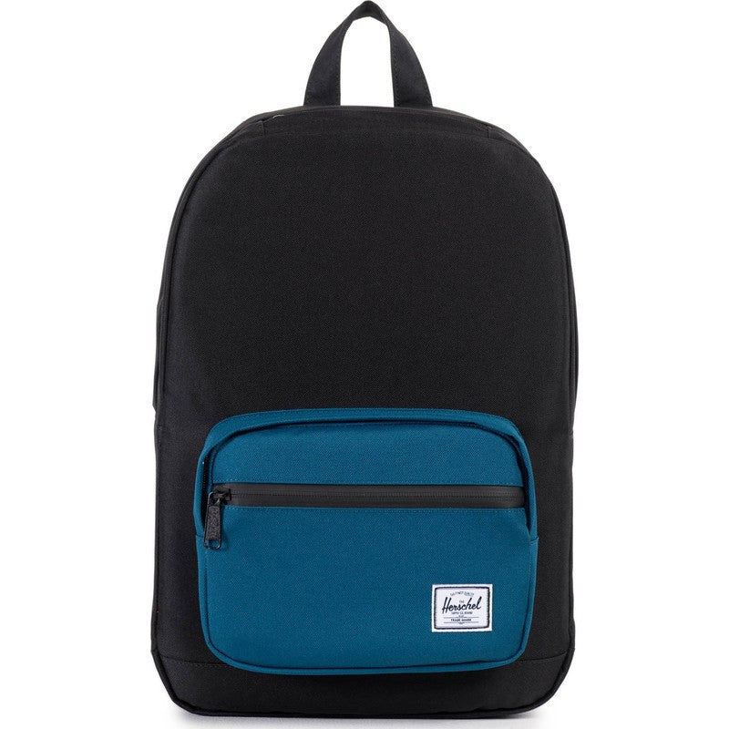 Herschel Pop Quiz Mid-Volume Backpack | Black/Ink Blue 10211-00869-OS