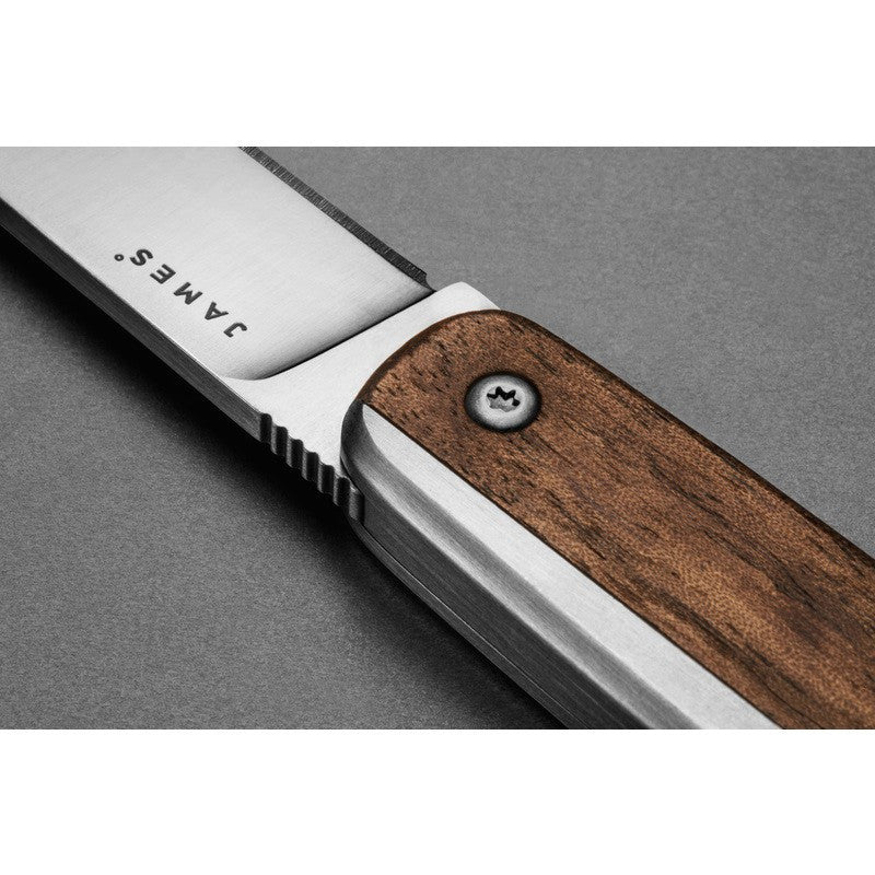 James Knives The County Knife | Walnut/Stainless