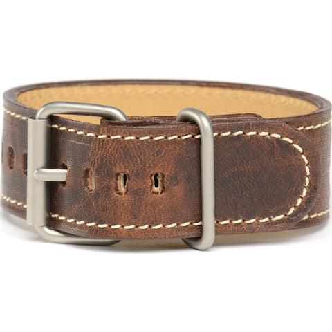 Bertucci Montanaro Survival Horween Leather Watch Band | Nut Brown #130
