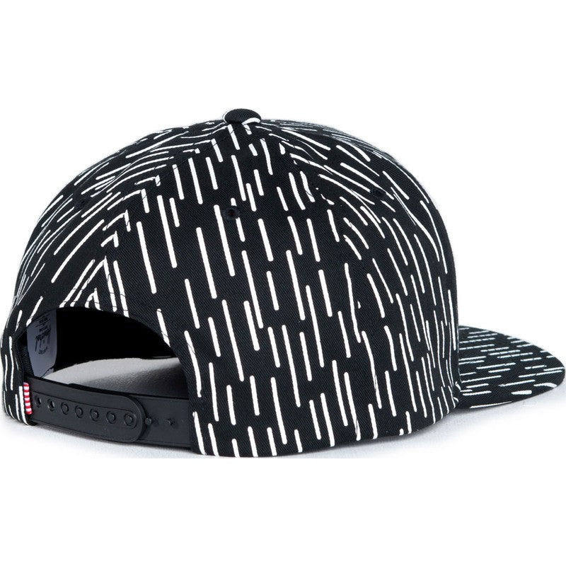 Herschel Toby Cotton Hat | Black/White Rain Drop Camo 1041-0103-OS