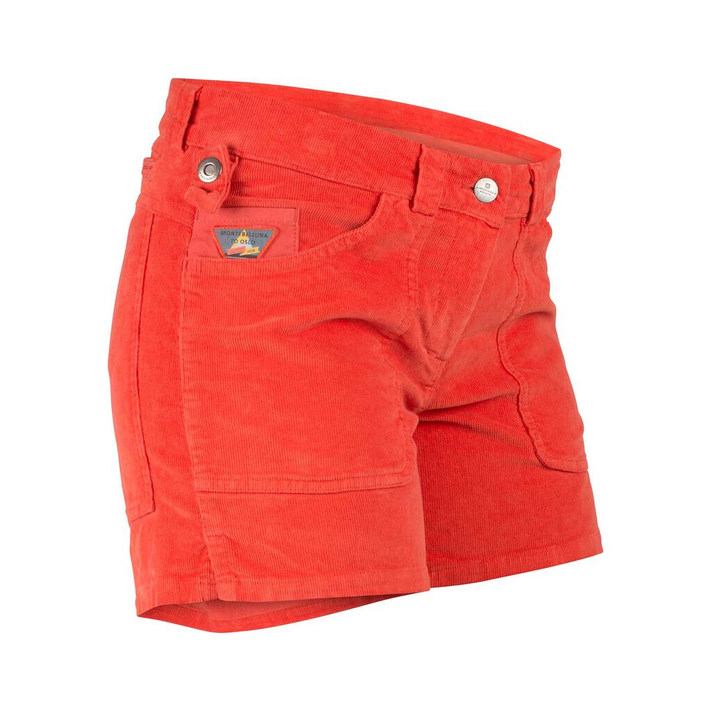 Amundsen 5INCHER CONCORD G.DYED SHORTS WOMENS | Weathered Red | WSS53.4.160.XL