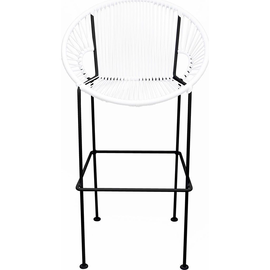 Innit Designs Puerto Bar Stool | Black/White-10b.01.02