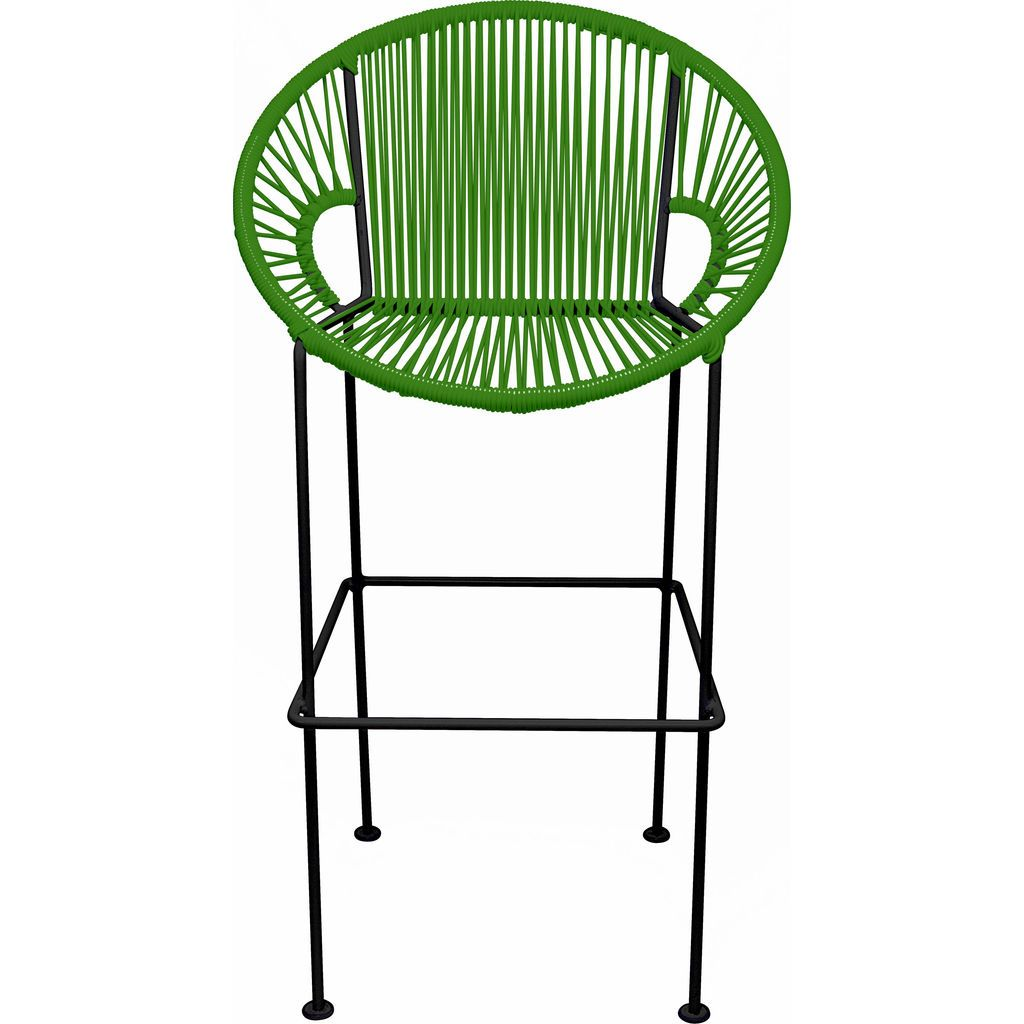 Innit Designs Puerto Bar Stool | Black/Cactus-10b.01.11