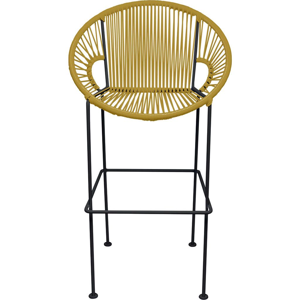 Innit Designs Puerto Bar Stool | Black/Gold-10b.01.14