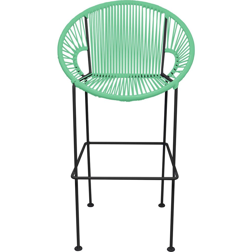 Innit Designs Puerto Bar Stool | Black/Mint-10b.01.16