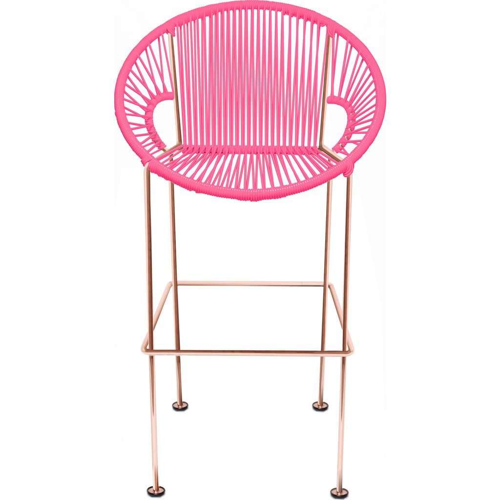 Innit Designs Puerto Counter Stool | Copper/Pink-10c.04.05