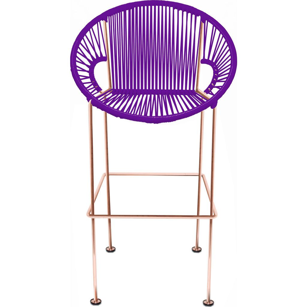 Innit Designs Puerto Counter Stool | Copper/Purple-10c.04.07