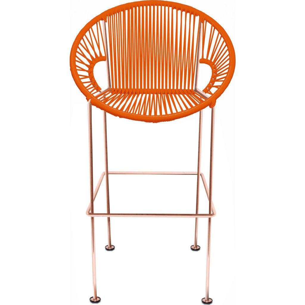 Innit Designs Puerto Counter Stool | Copper/Orange-10c.04.10