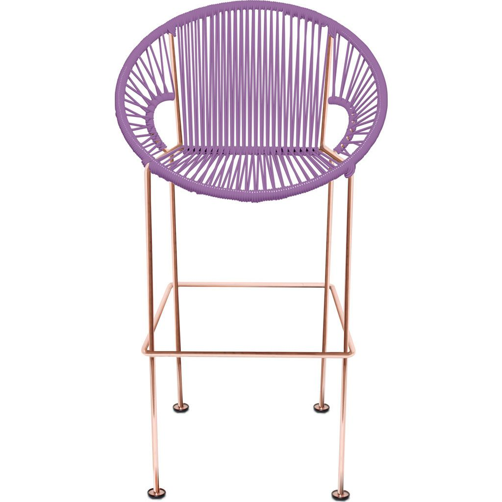 Innit Designs Puerto Counter Stool | Copper/Orchid-10c.04.12