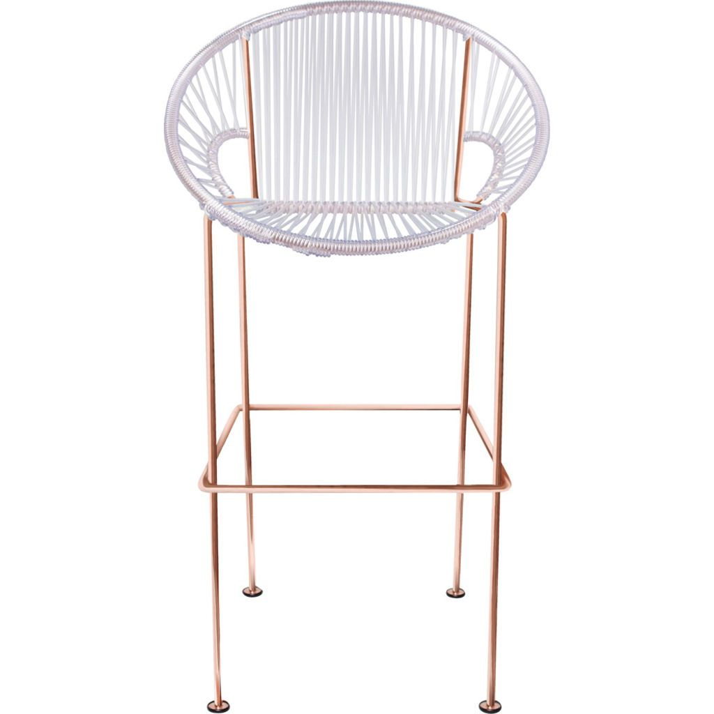 Innit Designs Puerto Counter Stool | Copper/Clear-10c.04.15