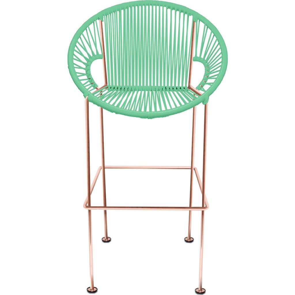Innit Designs Puerto Counter Stool | Copper/Mint-10c.04.16