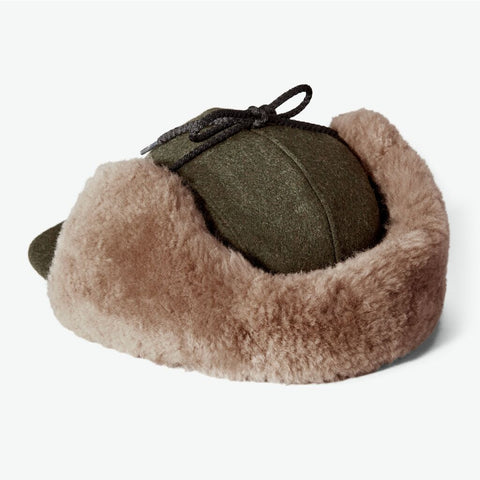 Filson Double Mackinaw Wool Cap XXL | Forest Green/Acorn