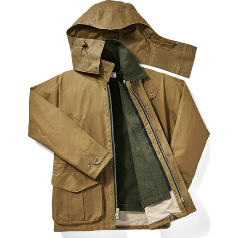 Filson Tin Cloth Field Jacket | Dark Tan XL 1st Standard 11010003Dark Tan