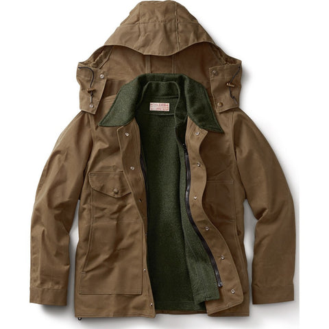 Filson Tin Cloth Jacket - Extra Long | Dark Tan XL Long 11010008