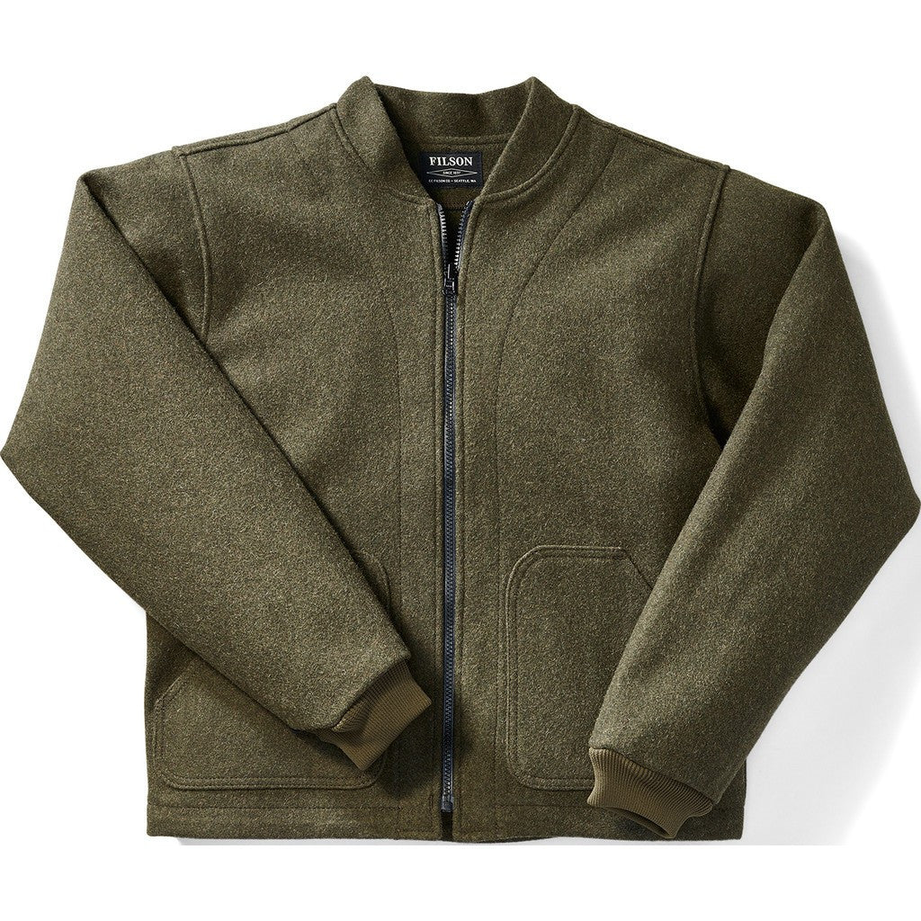 Filson Wool Jacket Liner | Forest Green L 11010036