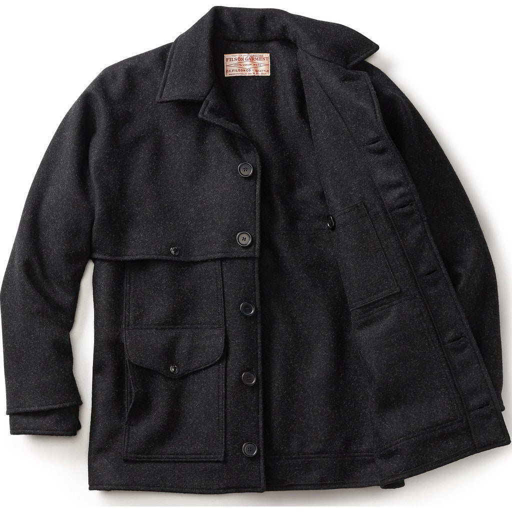 Filson Double Mackinaw Cruiser - Extra Long | Charcoal 40 Long 11010042
