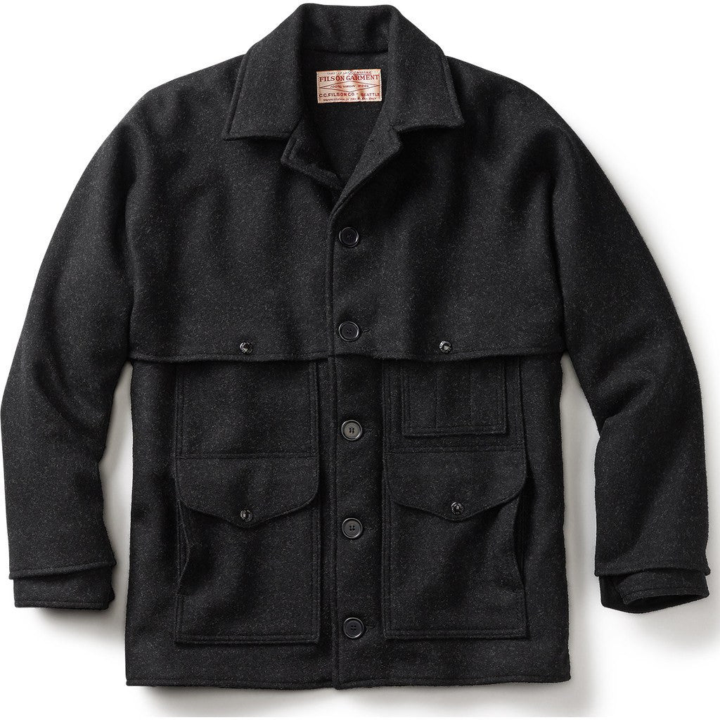 Filson Double Mackinaw Cruiser - Extra Long | Charcoal 46 Long 11010042