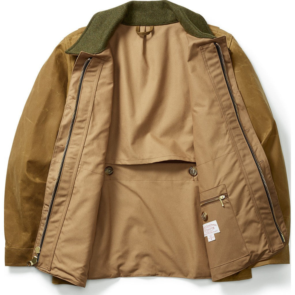Filson Tin Cloth Field Coat | Dark Tan M 11010088