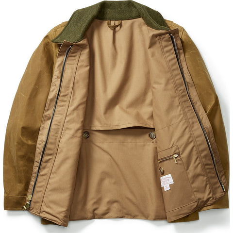 Filson Tin Cloth Field Coat | Dark Tan XL 11010088