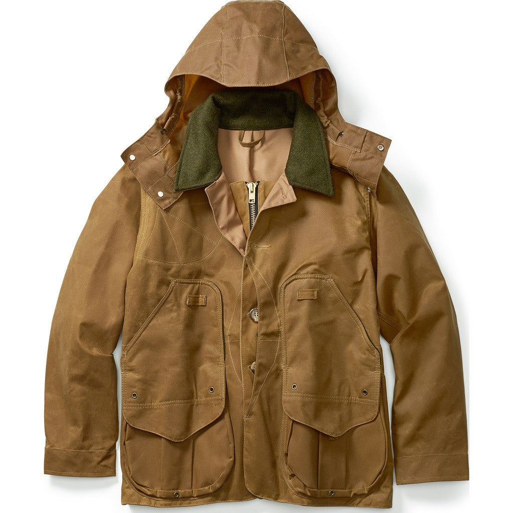 Filson Tin Cloth Field Coat | Dark Tan S 11010088