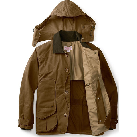 Filson Shelter Waterfowl Upland Coat | Dark Tan S 11010091
