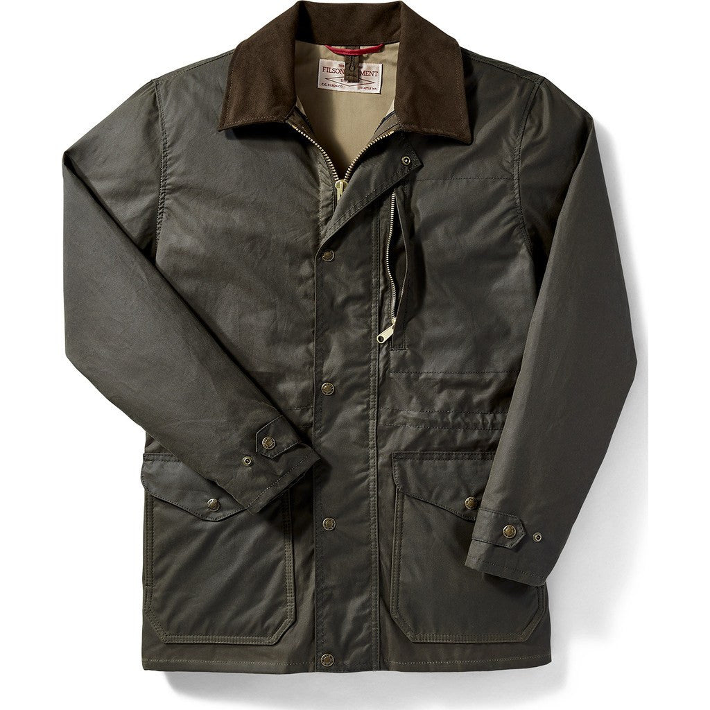 Filson Cover Cloth Seattle Fit Mile Marker Coat Otter ...