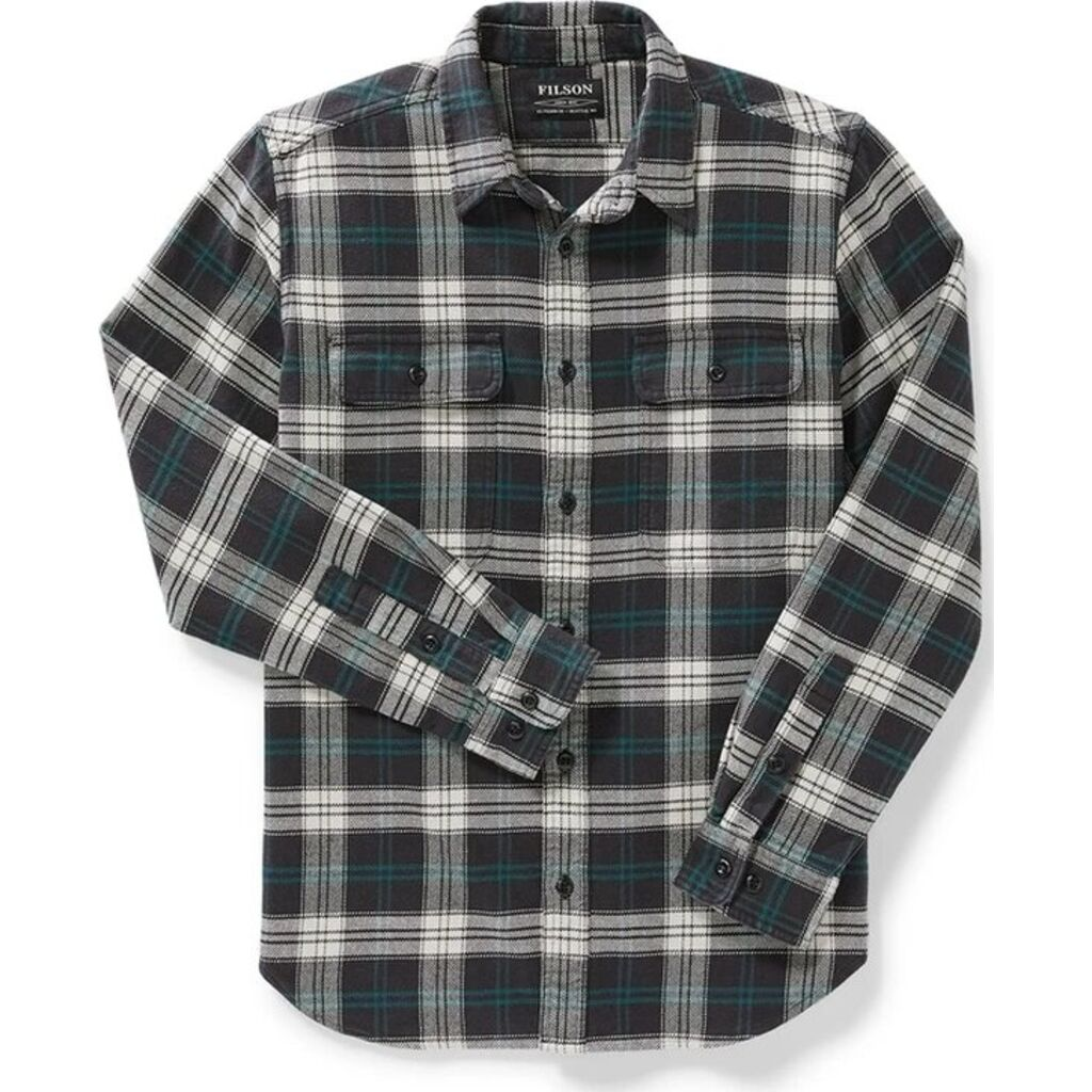 Filson Men's Vintage Flannel Long Sleeve Work Shirt