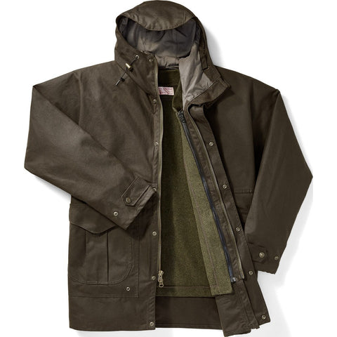Filson All Seasons Rain Coat | Orca Gray XXXL 11010695