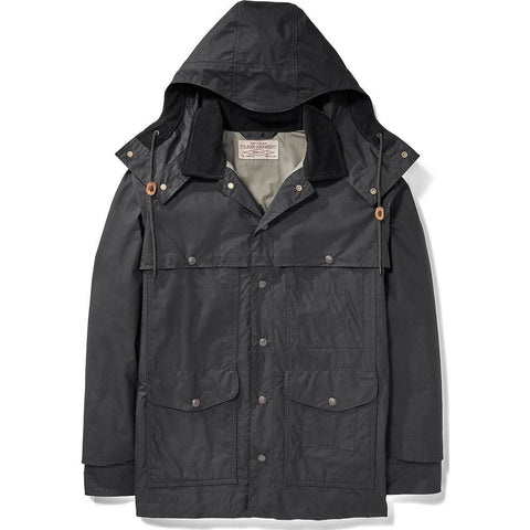 Filson Lt Wt Dry Cloth Cruiser Jacket | Black XL 11010713