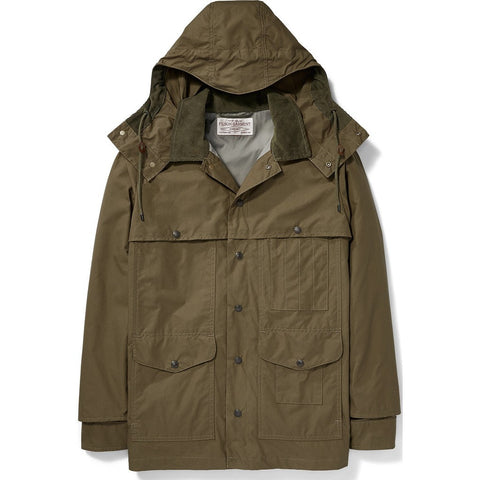 Filson Lt Wt Dry Cloth Cruiser Jacket | Marsh Olive S 11010713