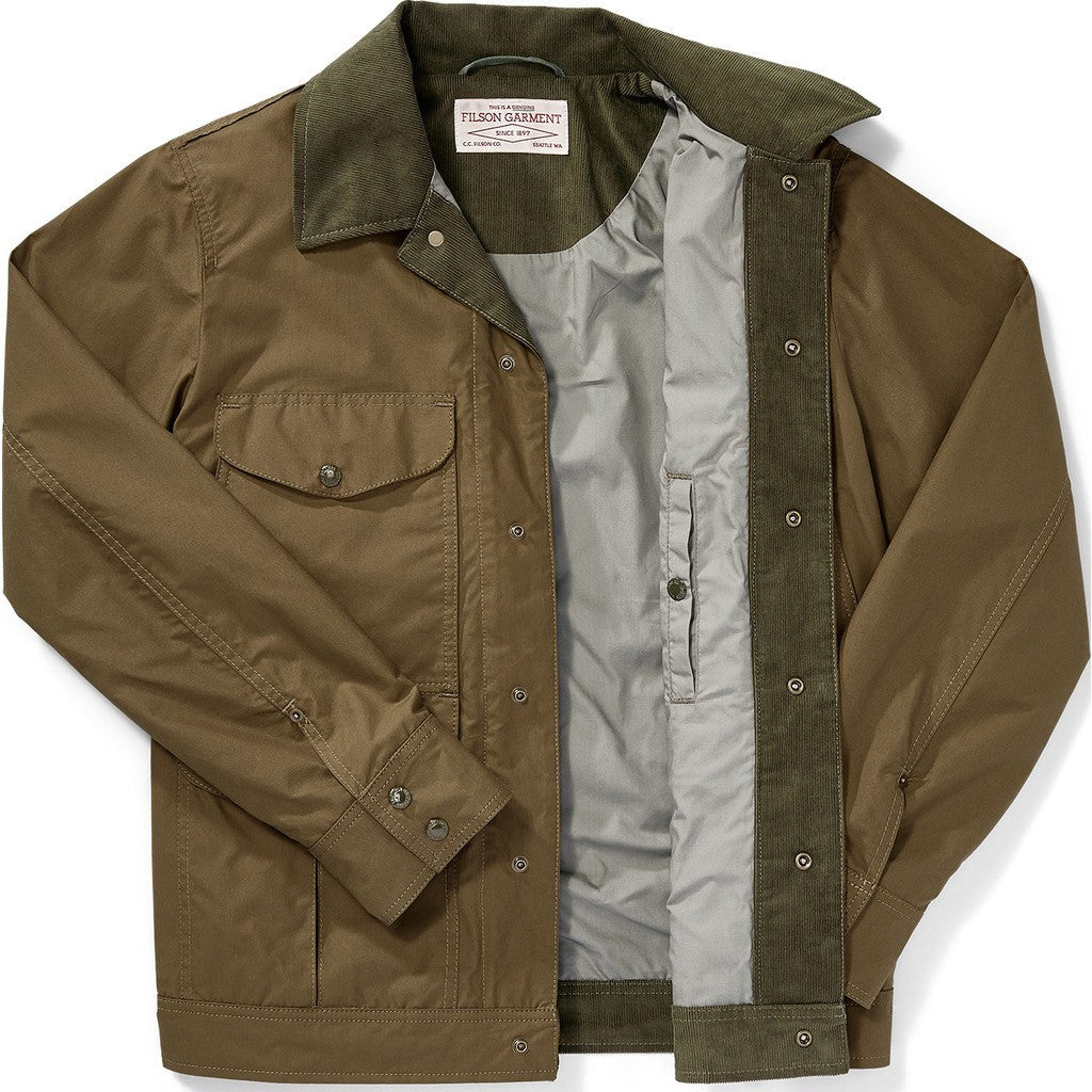Filson Lt Wt Dry Journeyman Jacket | Marsh Olive M 11010716