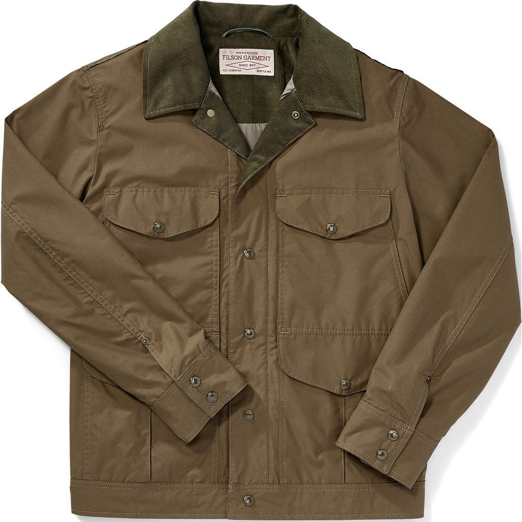 Filson Lt Wt Dry Journeyman Jacket | Marsh Olive S 11010716
