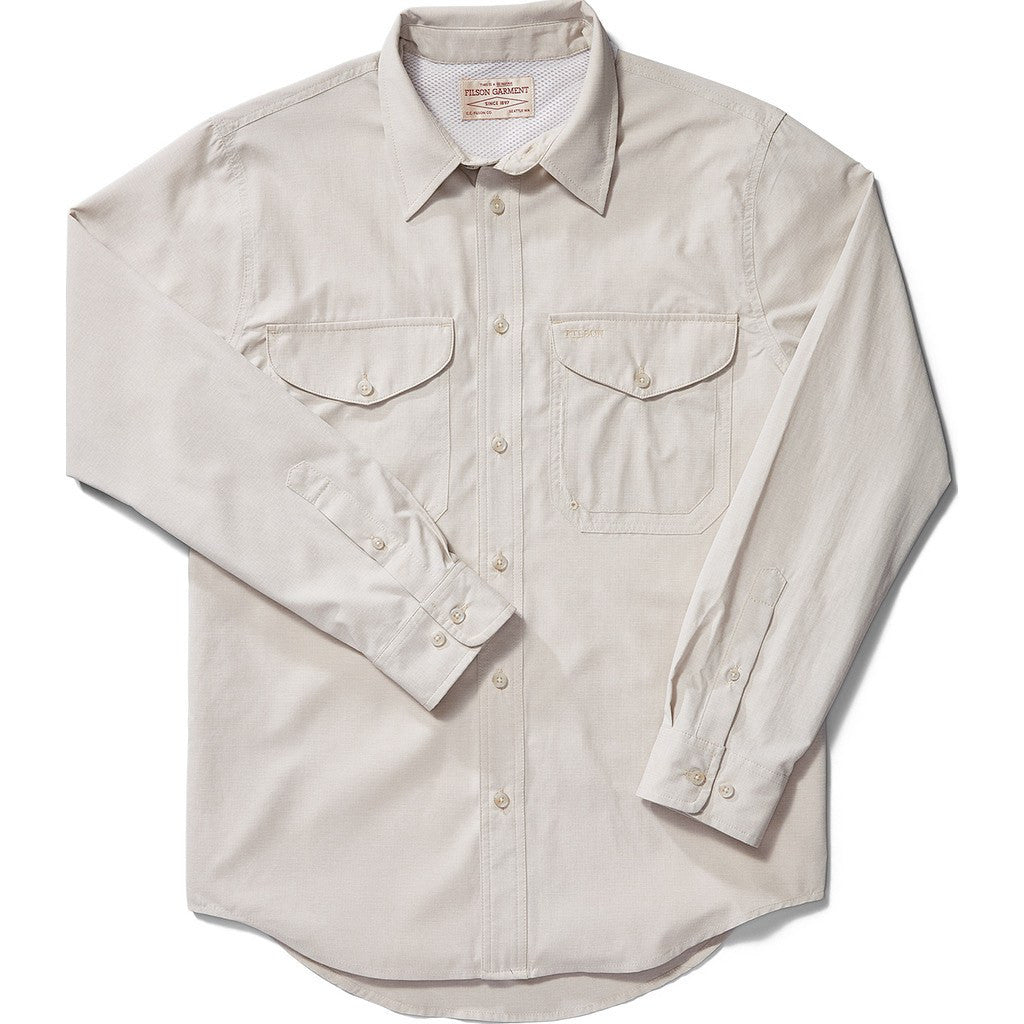 Filson Twin Lakes Sport Shirt | Sandstone S 11010733