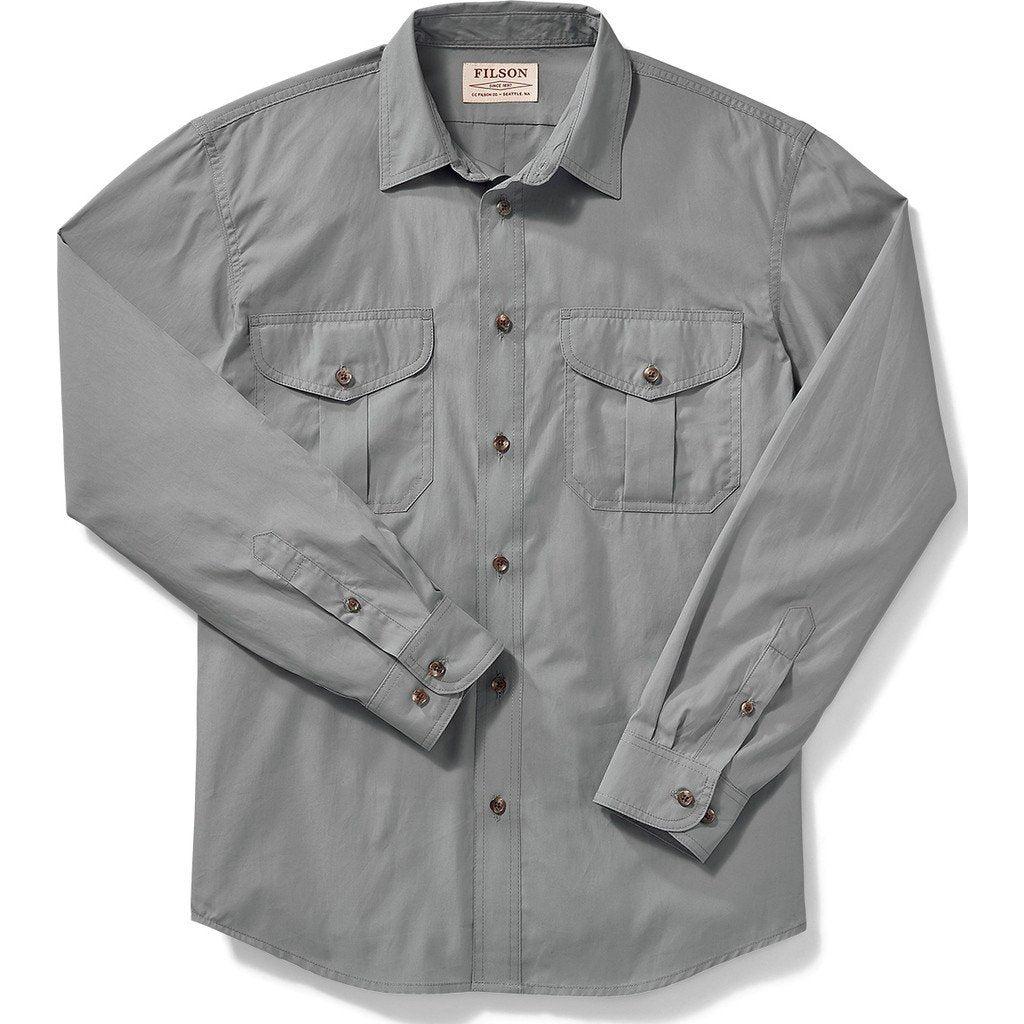 Filson Filson's Feather Cloth Shirt | Smoke Blue M 11010761