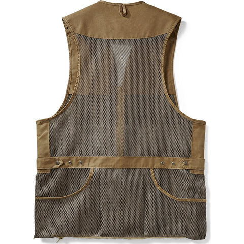 Filson Light Shooting Vest | Dark Tan M 1st Standard 11010767Dark Tan