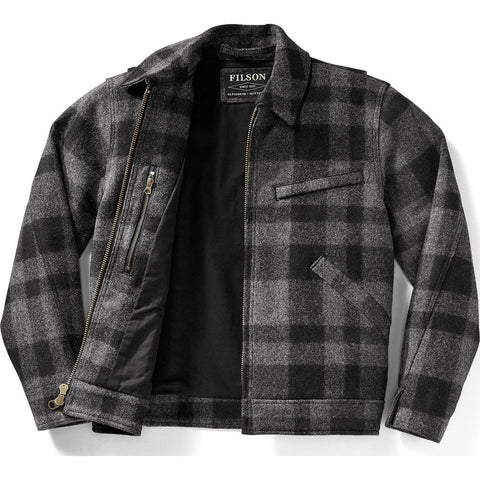 Filson Mackinaw Work Jacket | Gray Black S 11010776