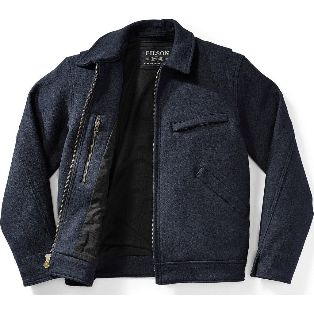 Filson Mackinaw Work Jacket | Navy M 11010776