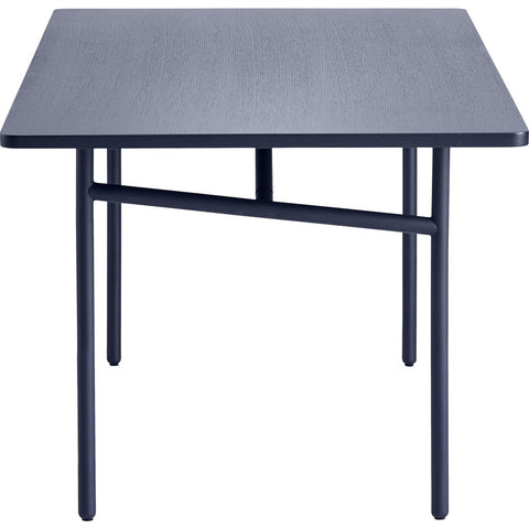 Woud Diagonal Dining Table | Blue 110140