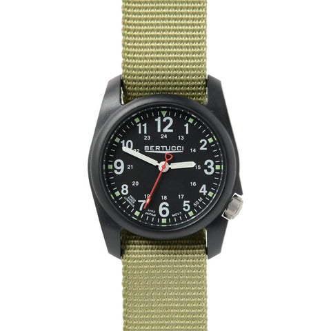 Bertucci DX3 Field Watch | Black/Patrol Green 11014