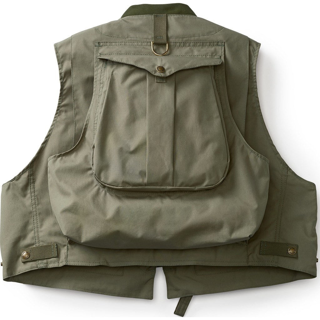 Sustianable Consumer Guide Fishing: Filson Fly Fishing Guide Vest Green 11016000