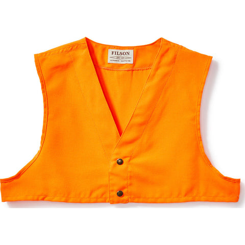 Filson Blaze Orange Safety Vest | Blaze Orange- 11016026--XS