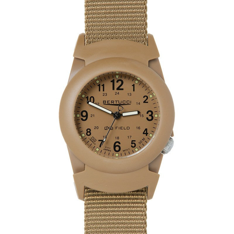 Bertucci DX3 Field Watch | Khaki/Coyote